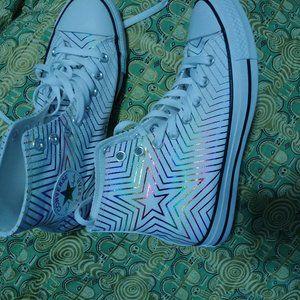 Multicolored Converse women  sneakers New size 8.5
